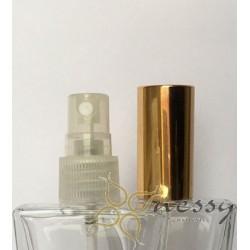18mm Altın-Şeffaf Valf Parfüm Spreyleri