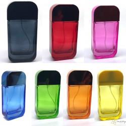 NY72-50ml Vidalı Renkli Parfüm Şişesi Parfüm Şişeleri