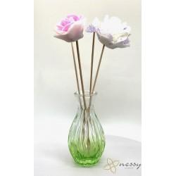 100ml Çiçekli Oda Parfüm Şişesi Bambu Koku Şişeleri