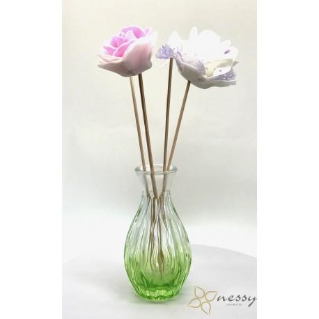 100ml Flowered Diffuser Bottle Room Diffuser Bottles